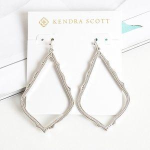 Kendra scott SOPHEE large earrings in Silver